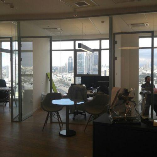 מחיצות אקוסטיות למשרדים