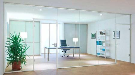 בחירת עבודות זכוכית למשרד