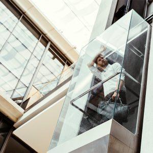 מעלית זכוכית - מעלית שקופה
